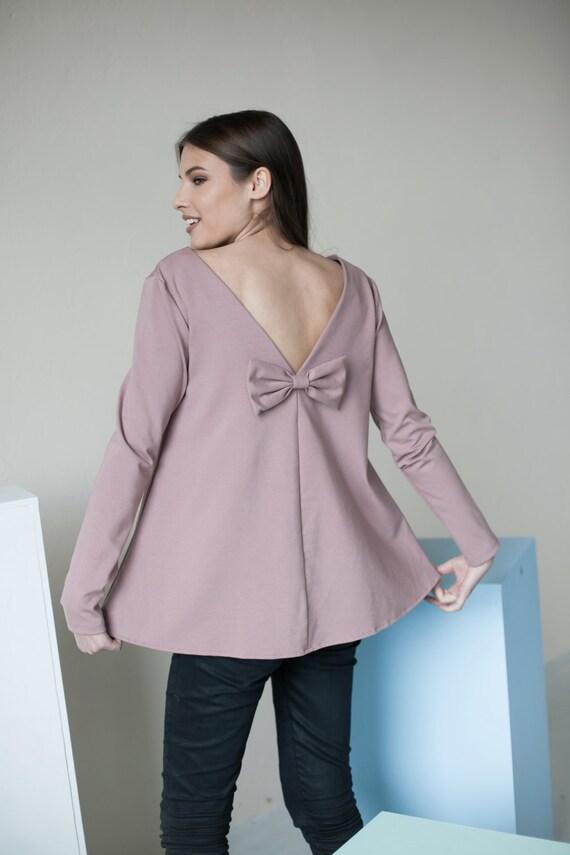 Elegant blouse | Romantic blouse | Rose blouse | LeMuse elegant blouse