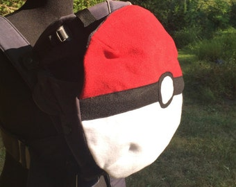 PokeBall Baby Carrier Cover or Baby Wearing Costume