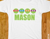 TMNT Party Iron-On Shirt Design - Choose child or onesie size