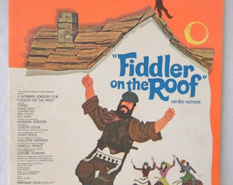 Sheet Music, Sunrise, Sunset, Fiddler on the Roof, Norman Jewison, Movie, Wedding Tune, 1964