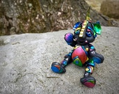 Polymer Clay Dragon 'SHATTER' - Limited Edition Handmade Collectible