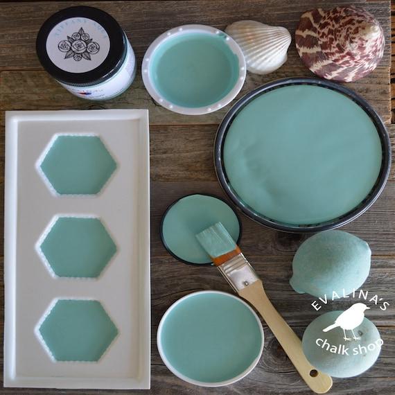 robin egg blue chalk paint for wood by evalinaschalkshop. Black Bedroom Furniture Sets. Home Design Ideas