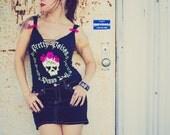 Sugar Skull Bracelet - Day of the Dead Jewelry - Sugar Skull Jewelry - Skull Bracelet - Rockabilly Jewelry - Dia De Los Muertos Jewelry