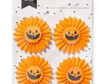 Crate Paper AFTER DARK Collection STANDOUTS Layered Stickers Halloween