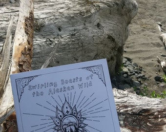 swirling beasts of the alaskan wild a coloring book - Psychedelic Coloring Book