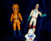 Original  GHOSTBUSTERS Ghost Busters Action Figures Lot 3 Three Toys
