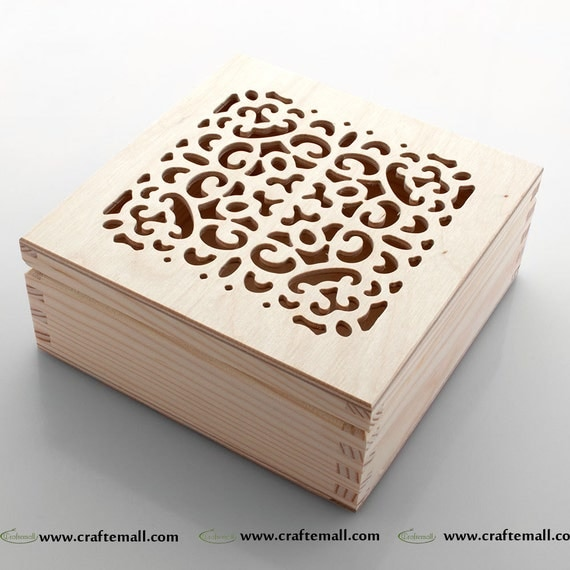 wooden box for decoupage wooden box with lid 15cm wooden. Black Bedroom Furniture Sets. Home Design Ideas