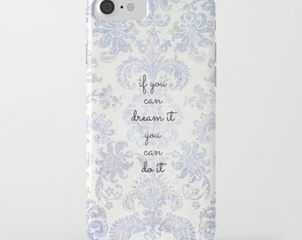 you can blue tapestry  - iPhone Galaxy cases