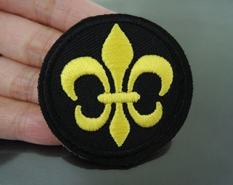 Boy Scout Patches - Iron on Patches BoyScout Patch Applique Embroidered Patch Sew On Patch