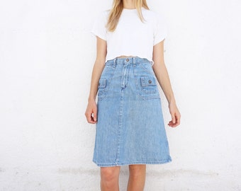Jean Skirt 70s Wrangler Sz. 26 waist