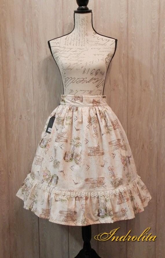 Classic Lolita Casual  skirt -  Sweet Vintage