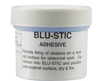 Thompson Enamel BLU-STIC Adhesive, 2-oz.