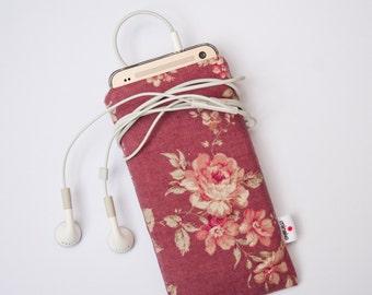Vintage Roses Case iPhone 6s 6s Plus 7 7 Plus iPod Classic HTC 10 LG G5 Samsung Galaxy S7 Sony Xperia Z5 Nexus 5X 6P Google Pixel XL Sleeve