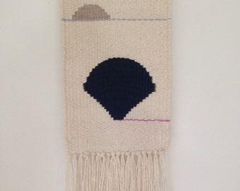 Handmade woven wall hanging | weaving | Fan