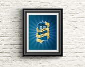 Doctor Who Inspired Whovian for Life Poster