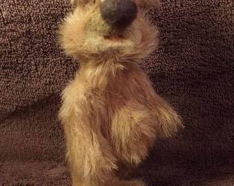 Meet Little Toffee A Handmade One Of A Kind Artist Bear From Billington Bears