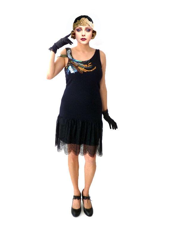 Retro Sequin Flapper Dress Great Gatsby Dress Roaring 20s