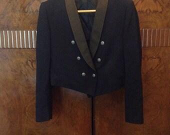 Vintage 1960's Men's Lauterstein's Uniform's of Distinction USAF Dress Jacket Jacket - Size 44 short
