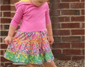Tatum Twirl Dress: Girls Dress PDF Sewing Pattern, Twirl Dress Sewing Pattern