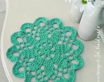 Doily Crochet pattern mandala Tarn Rug PDF - mandala crochet pattern - INSTANT DOWNLOAD