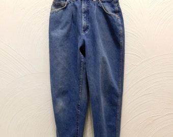 1980s High Waist Jeans Vintage 80s High Rise Lee Jeans - 28W x 28L
