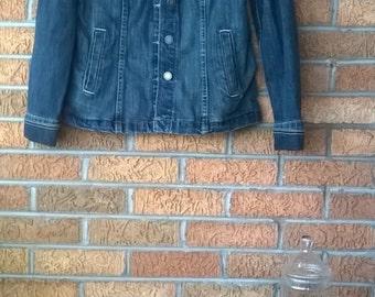 Vintage Calvin Klein Denim fall Jacket M Medium 8 10