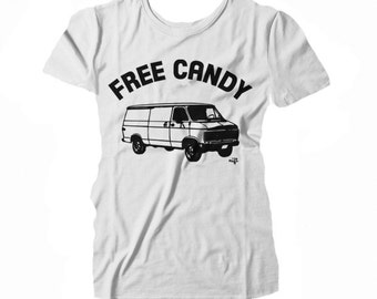 Free Candy Creeper Van WOMEN'S T-shirt