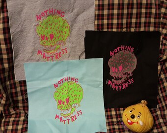 Nothing Mattress Screen-Printed Backpatches