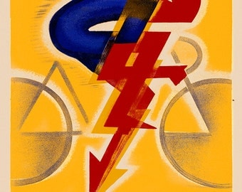 Personalized Bicycle Poster (#0715P)