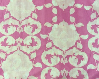 Tina Givens Pink VOILE Fabric - more yardage available