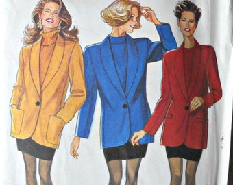 New Look 6978, Women's Jacket and Skirt Pattern, Uncut, Sizes 8 through 18