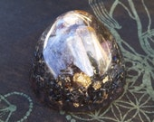 Orgone Massage Dome with Rainbow Crystal Assortment