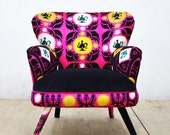 RESERVED for Tiffany: Suzani Armchair - August