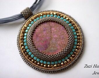 Beaded Necklace Imperial Jasper O.O.A.K