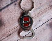 N7 Bottle Opener Keychains 3 Designs