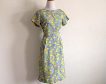 60s Palm Fashions Day Dress - New Old Stock - Size Medium