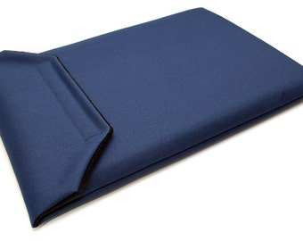 MacBook Pro 15 Retina Case Laptop Sleeve Cover 15.4 inch Waterproof - Navy Blue Canvas