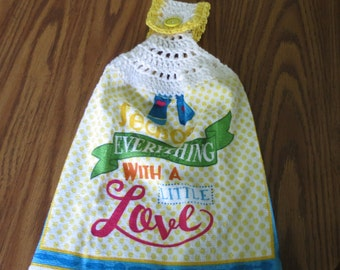 Season Everything With A Little Love Towel