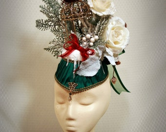 Women's Victorian Edwardian Christmas Winter Hat: The Escape Artist