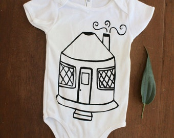 Baby Yurt - Outdoors Adventurer - Onesie Bodysuit