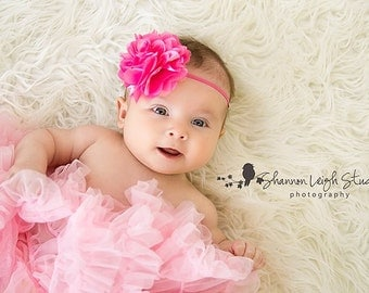 Baby Headbands Baby Girl Headbands Baby Bows Baby Girl Bows Pink Headbands Pink Baby Girl Headbands Ready To Ship Headbands Newborn Headband