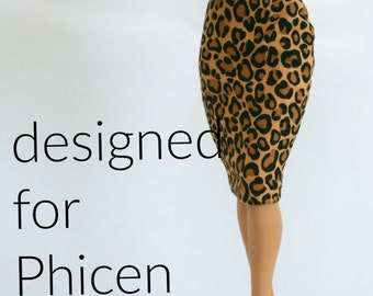 Pencil Skirt for Phicen dolls
