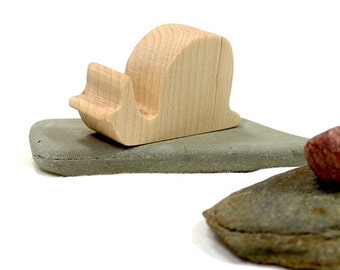 Wood Toy Snail, snail toy, snail gift, snail figurine, wooden toy, mollusk toy, woodland animal toy, forest animal toy, wooden toy for boy