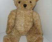 Vintage Mohair Bear Large Mohair Bear