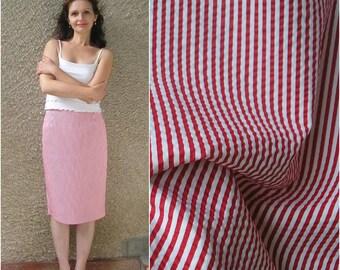 Vintage nautical pencil skirt, size M