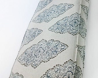 custom bench or window seat cushion seat cover designer quality double piping