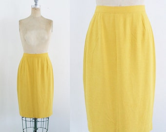 Yellow skirt | Etsy