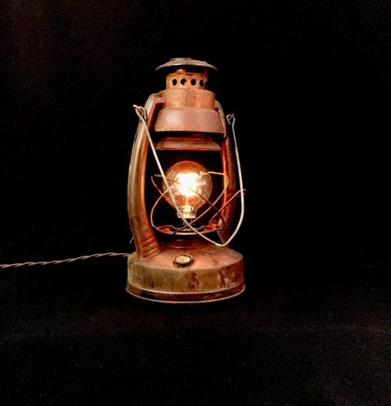Rustic Lantern - Table Lamp - Lighting - Light