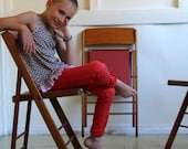 little girls TRUCK STOP TOP  sewing pattern