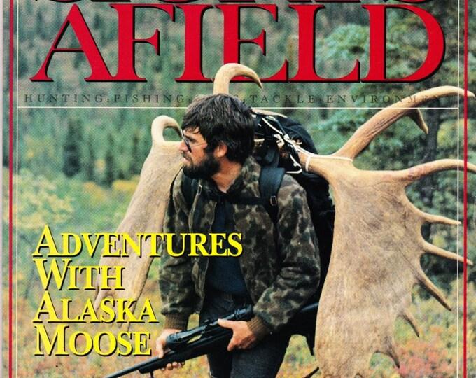 Vintage Sports Afield Magazine September 1991, Hunting, Fishing, Articles, Angler, Alaska, Moose, Adventures, Rilfes, Guns, Fishing Pole